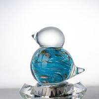 Folk art antique imitation murano glass