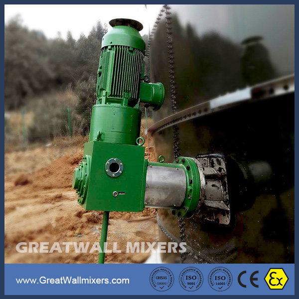 Top Quality CFJ Industrial Chemical Side Entry Mixers Reducer Agitator for Storage Tank
