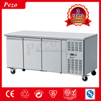Pezo made in china 3 doors upright commercial refrigerators