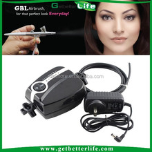 Getbetterlife CE Portable Mini 5 Speed Black and White 21PSI Body <strong>Airbrush</strong>