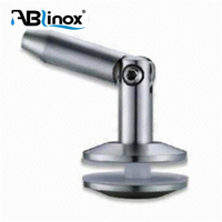 ABLIinox satin/mirror surface stainless steel base with bridge expansion joints