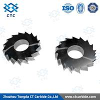 Customized size tungsten carbide circular knife saw blade for cutting stainless steel