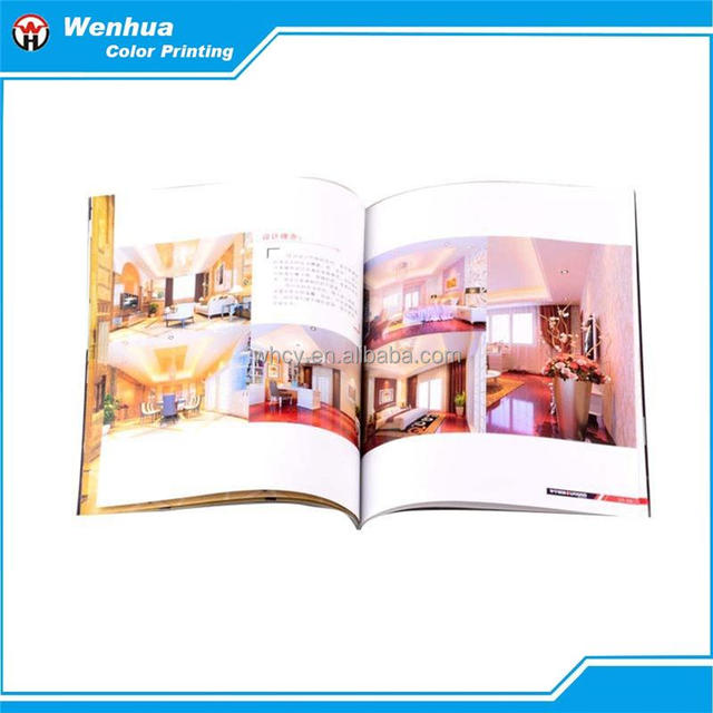 A4 Size Cosmetic Catalogue Or Brochure Printing