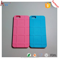 Simple silicone cell phone cover with various color