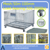 Wholesale high quality folding storage cage with wheels
