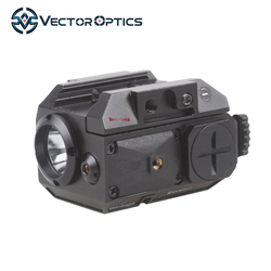 Vector Optics Blackout Pistol Green Laser Sight and Flashlight Combo Gun Sight With Picatinny Rail For Glock