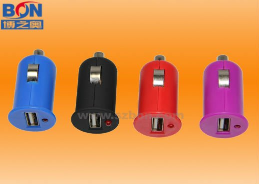 2011 hot universal mobile phone usb car charger