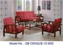 Simple Antique Wooden Sofa Set For Living Room, Wood Antique Design Sofa Set, Wooden Classic Living Room Furniture