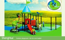 Best Selling Ce Certificate Plastic Kids Outdoor Playground Items