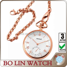 name brand wholesale playboy pocket watch in Singapore