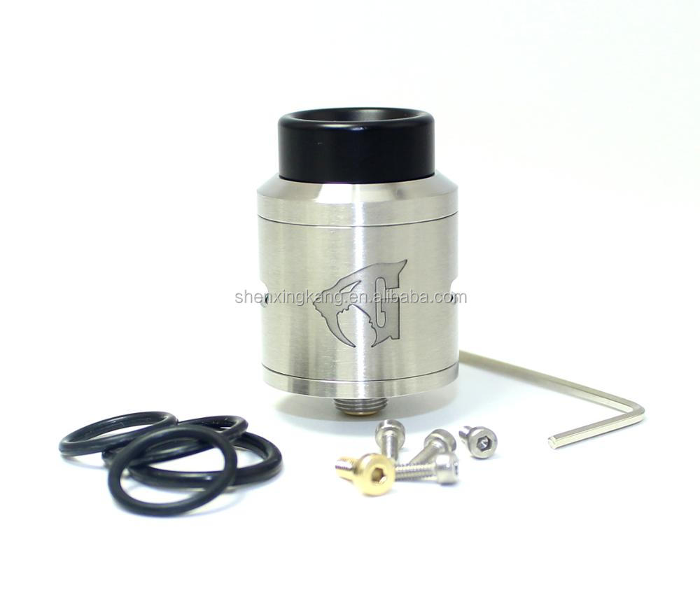 SXK 1:1 clone 24mm Goon v1.5 rda atomizer with bf pin for squonk mod