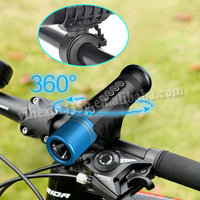 Waterproof Outdoor Bicycle Led Bluetooth Speaker With CREE LED Light Small Portable Outdoor Bike Strap Anywhere Speaker