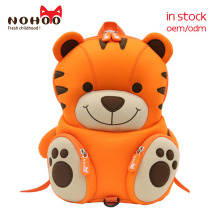 New Arrival nohoo factory design new product 3d cartoon stock school <strong>bags</strong> for small kids
