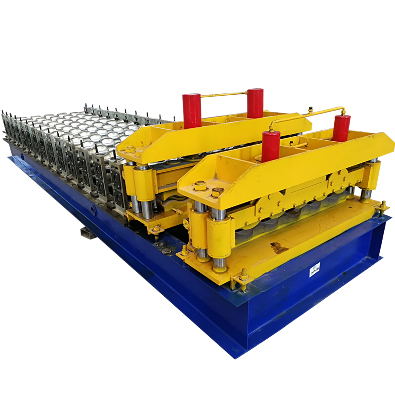 High quality glazed tile metal roofing machine