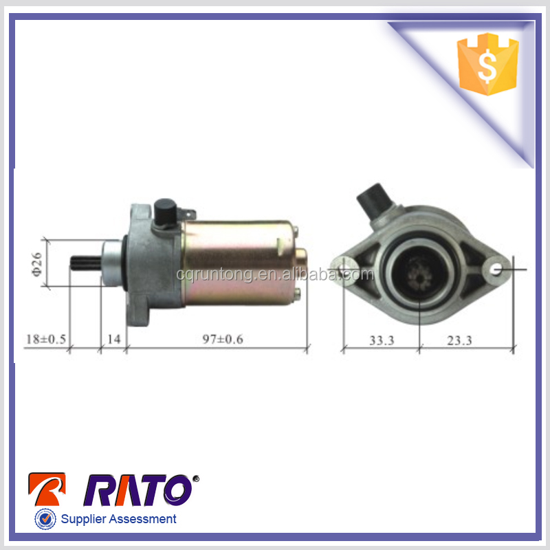 For Suzuki 110 motorcycle starter motor on sale