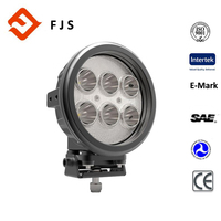 manufacturer supplier E-mark 60w black working lamp LED driving light