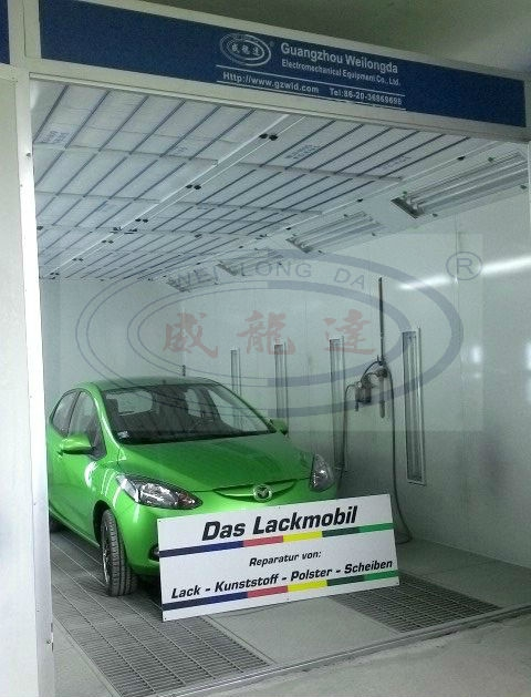WLD8200 High Quality Car Spray Booth for sale