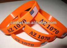 factory directly sell cheap personalized silicone tennis bracelets