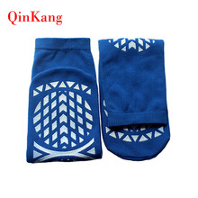 Anti-Bacterial latex free medical compression socks non skid socks
