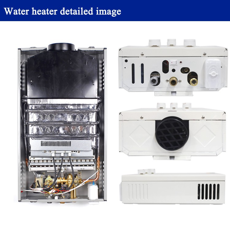 wall mounted natural gas water heater