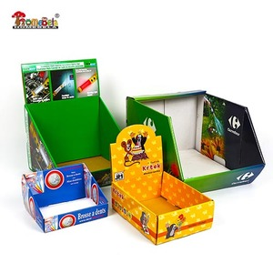 Customized design paper display box for products show