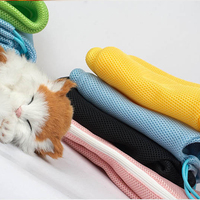 High Quality Pet Biting Scratching Resisted Nail Trimming Cat Washing Shower Grooming Bag