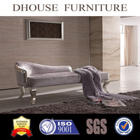 new classic italian furniture antique chaise lounge fabric sofa AL084