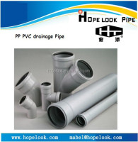 PP PVC plastic push fit plumbing fitting with rubber joint