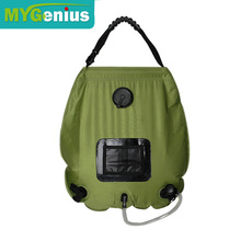 Hiking shower pouch bag ,T0C3n camping portable shower
