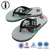 Anti Slip Eva Flip Flop Shoes Woman with Logo Printed