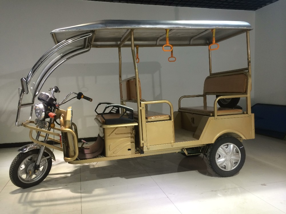 Electric tricycle indian electric rickshaw for Kolkata