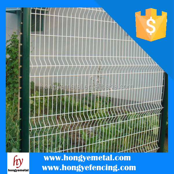 2x2 Galvanized Welded Wire Mesh Fence Panels In 6 Gauge