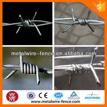 hot-dipped galvanized cheap barbed wire