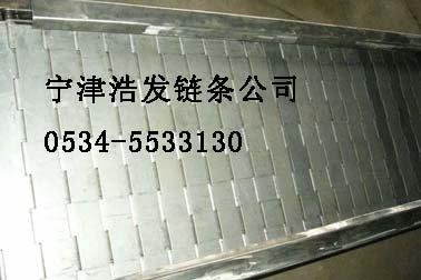 stainless steel conveyor plate chain