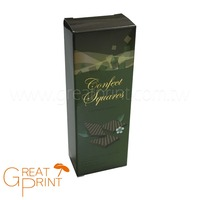 Chocolate Biscuit Packaging Vertical Paper Folding Box