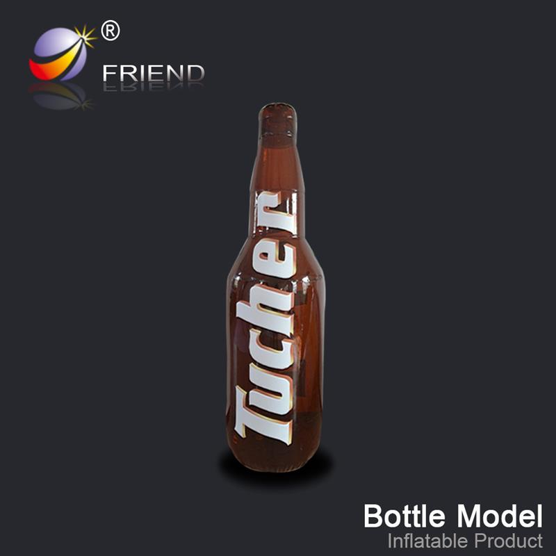Water Oil resistance Any Color Colorful Recreational activities inflatable pvc bottle giant pvc bottle advertising arch