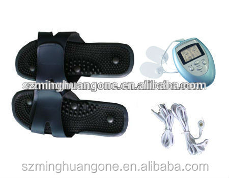 acupuncture foot massage slipper / vibrating foot massager / electronic foot massage slipper
