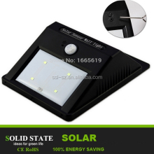 hot wall motion sensor light outdoor SMD decoration LED emergency lamp led solar light , solar wall light , solar lamp