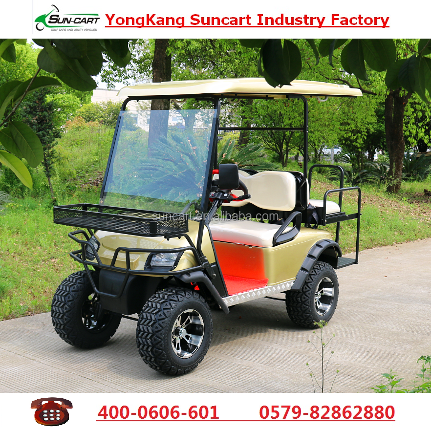 4 Seater electric off road golf cart,Hunting golf cart for golf club,holiday village