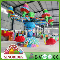 Happy jellyfish amusement park rides round seat swing,round seat swing for sale