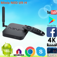 2017 Factory price Minix NEO U9-H S912 2G 16G set up boxes With Long-term Service Android 6.0 TV Box