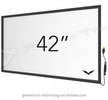 Hotselling 42 inch infrared multi touch screen overlay kit