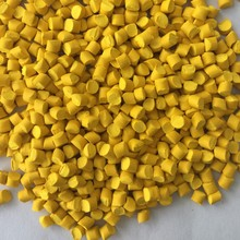 High Concentration of Yellow Masterbatch for Injection Molding
