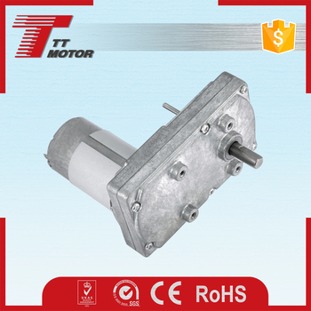 GM100F-555PM High torque 12v dc gear motor or 24 volt dc motor