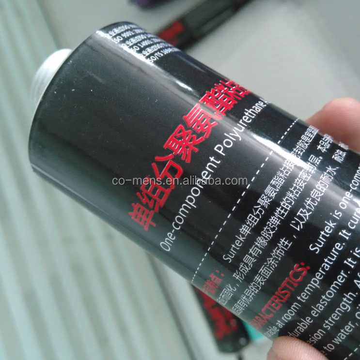 1 - part Auto Mobile Window Glass Direct Glazing Polyurethane Sealant with High Shear strength and Elongation sealant