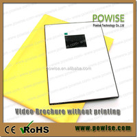 "Hot selling 2.4"",2.8"",3.5"",4.3"",5"",7"",10.1"" lcd video player greeting card / advertising video brochure"