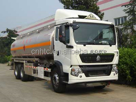 Tank Truck 20 Cubic Tank 2017 New Product Diesel Fuel