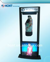 New Invention ! magnetic levitation led display rack for underwear, breast enhance bra massager