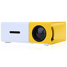 Mini led projector HD 1080 portable home theater pocket cheap price YG300 Lithium Battry