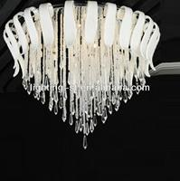 Modern Crystal Ceiling Lamp With High Quality Good Price And Hot Sale Item
